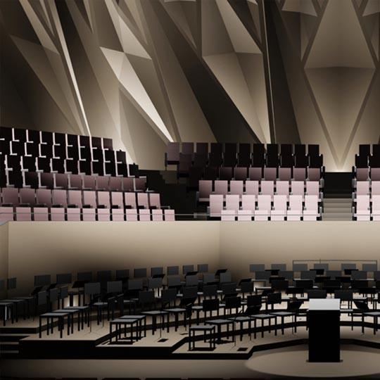Konzertsaal Diplomentwurf
